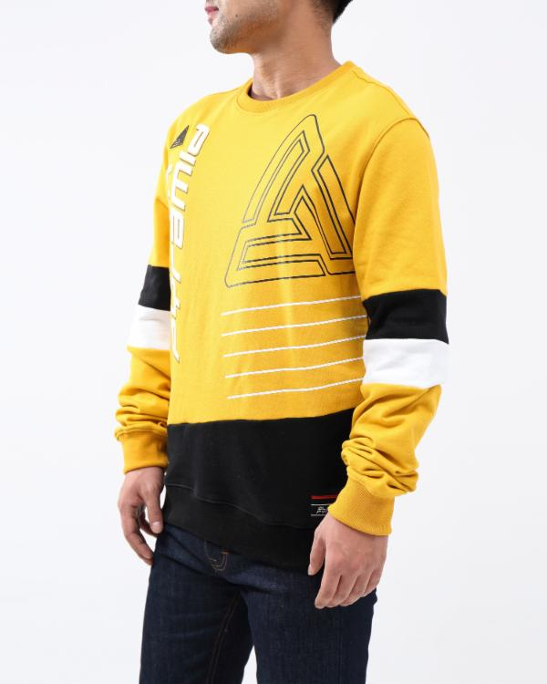 BP RETRO FUTURE CREW-COLOR: YELLOW