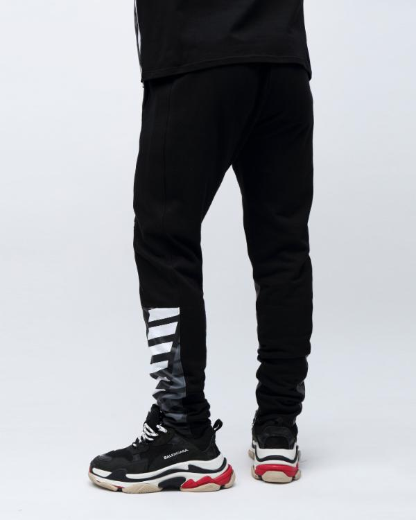 HAZARD OG LOGO PANT-COLOR: BLACK