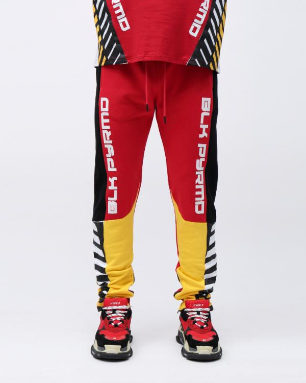 HAZARD OG LOGO PANT-COLOR: RED