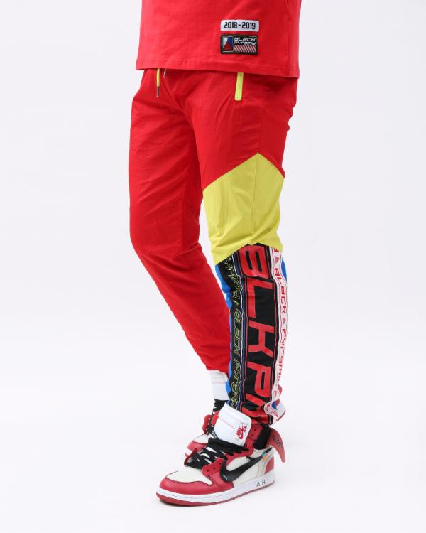 FUTURE OF NEON TRACK PANTS - Color: Red