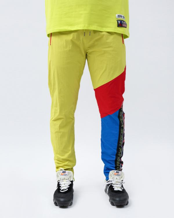 FUTURE OF NEON TRACK PANTS - Color: Yellow