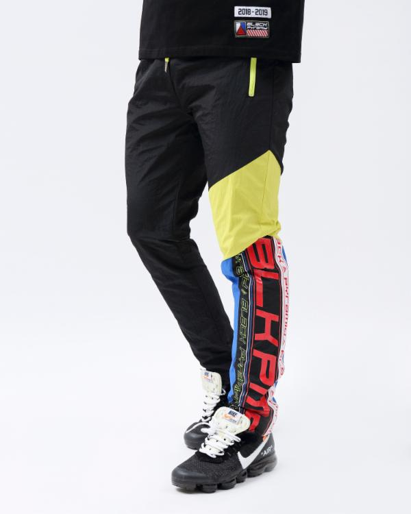 FUTURE OF NEON TRACK PANTS - Color: Black