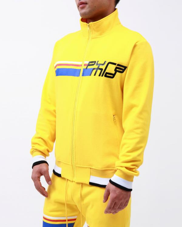 BP FUTURE CLASSIC TRACK JACKET-COLOR: YELLOW