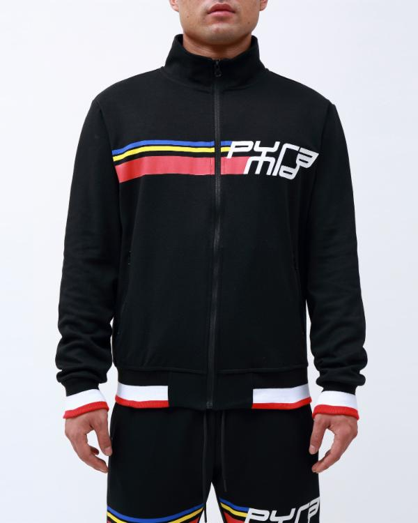 BP FUTURE CLASSIC TRACK JACKET-COLOR: BLACK