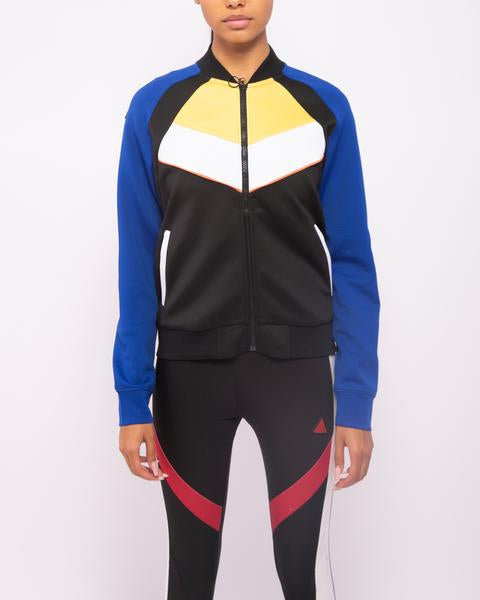 WOMENS MOTORCROSS COLOR BLOCKED TRACK JACKET