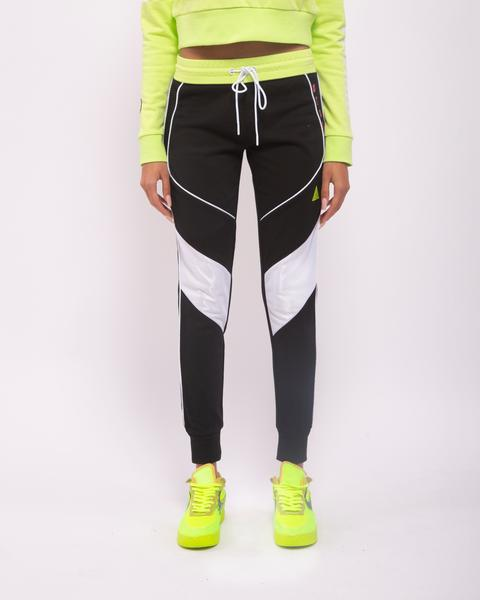 WOMENS CONTRAST PIPING JOGGERS