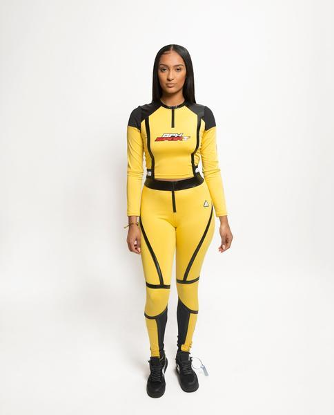 Womens Taped Seam BPX Sport Top-COLOR: YELLOW
