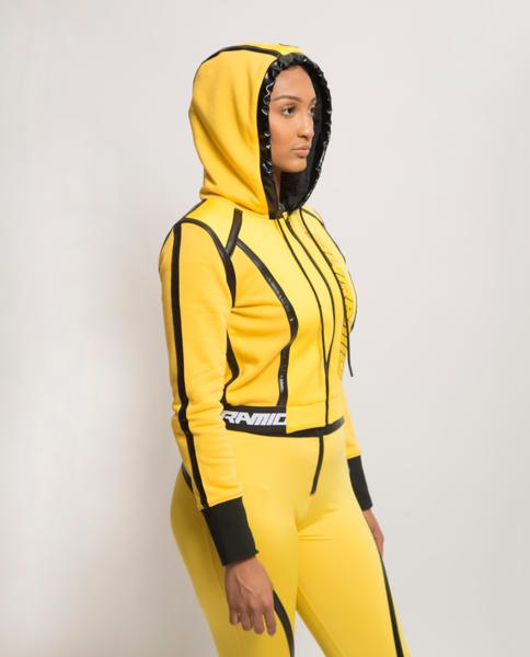 Womens Taped Seam BPX Sport Hoodie-COLOR: YELLOW