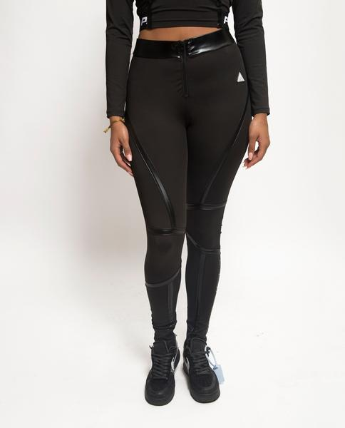 Womens Taped Seam BPX Leggins-COLOR: BLACK