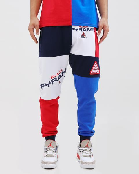 SHUFFLED PIECES PANT-COLOR: MULTI COLOR