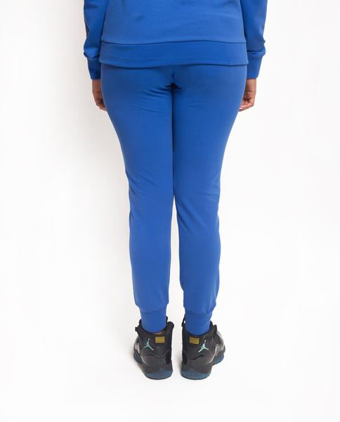 WOMENS SPLIT LOGO CORE JOGGER-COLOR: BLUE