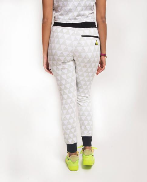 WOMENS PYRAMID SPORTIF JOGGER-COLOR: WHITE