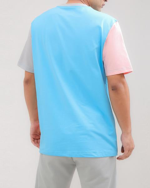 LOGO SPLITS SHIRT-COLOR: PINK