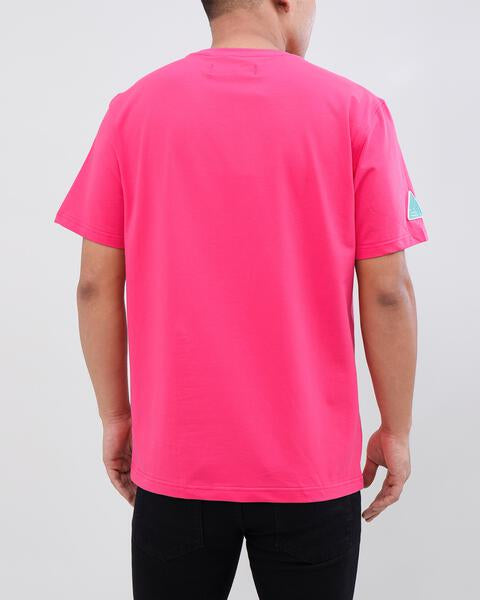 INDIGO SEASON SHIRT-COLOR: HOT PINK