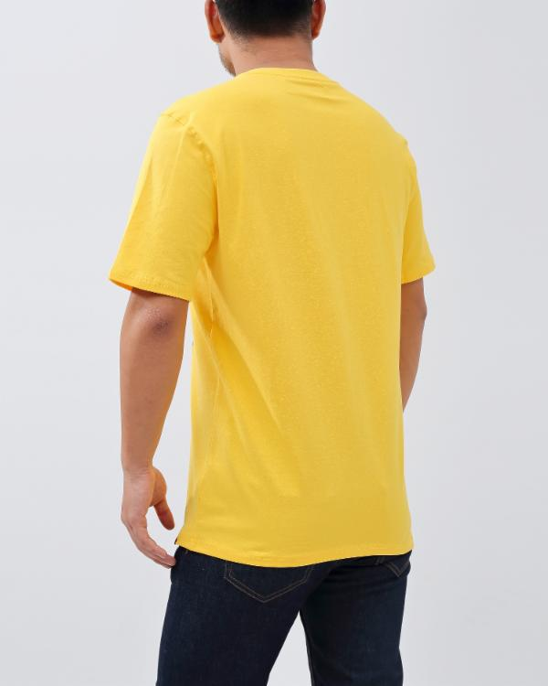 BP LANGUAGES TEE-COLOR: YELLOW