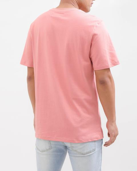 BP CREST RAINBOW TEE-COLOR: PINK