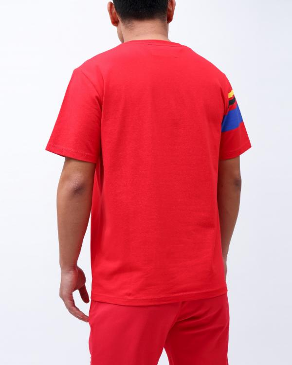 FUTURE CLASSIC S/S TEE-COLOR: RED