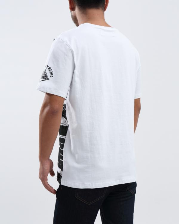 REAR VIEW SHIRT-COLOR: WHITE
