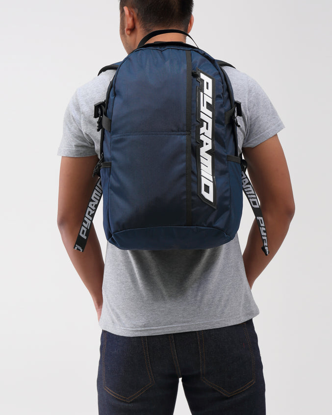 PYRAMID BACKPACK - Color: Navy | Blue