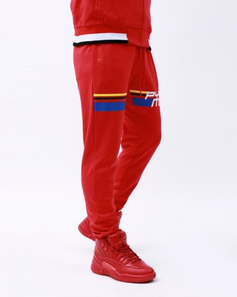 BING AND TALL BP FUTURE CLASSIC TRACK PANT-COLOR: RED