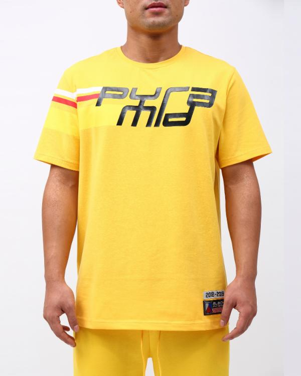 FUTURE CLASSIC S/S TEE-COLOR:YELLOW