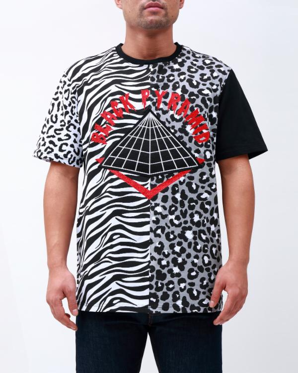 ANIMAL MASHUP SHIRT-COLOR: WHITE