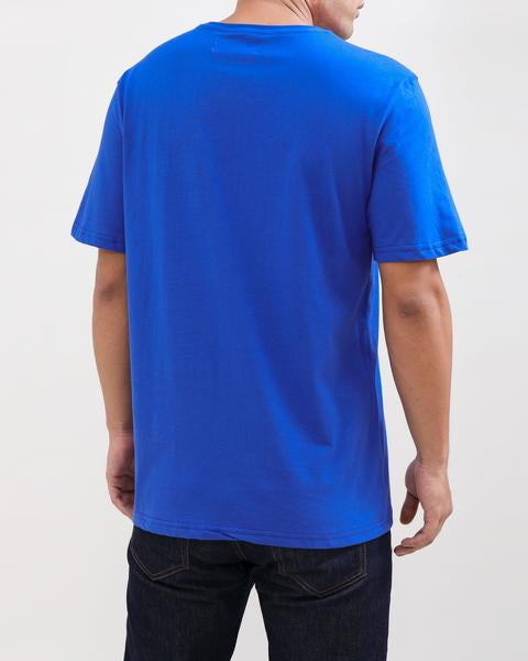 BP CREST RAINBOW TEE-COLOR: BLUE