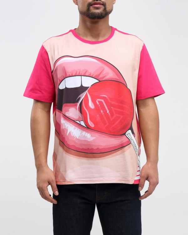 LOLLIPOP SHIRT-COLOR: RED