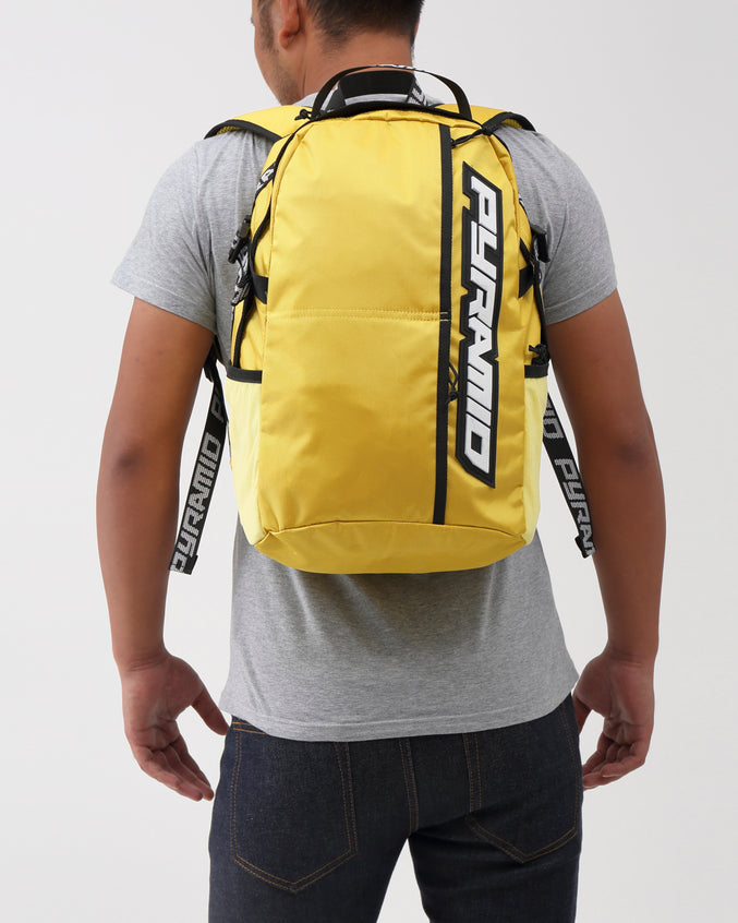 PYRAMID BACKPACK - Color: Yellow