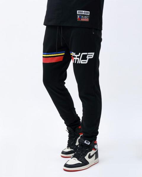 BING AND TALL BP FUTURE CLASSIC TRACK PANT-COLOR: BLACK