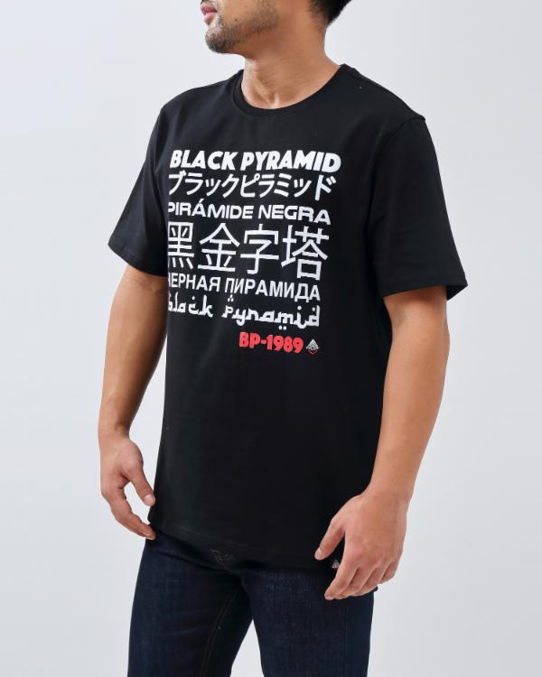 BP LANGUAGES TEE-COLOR: BLACK