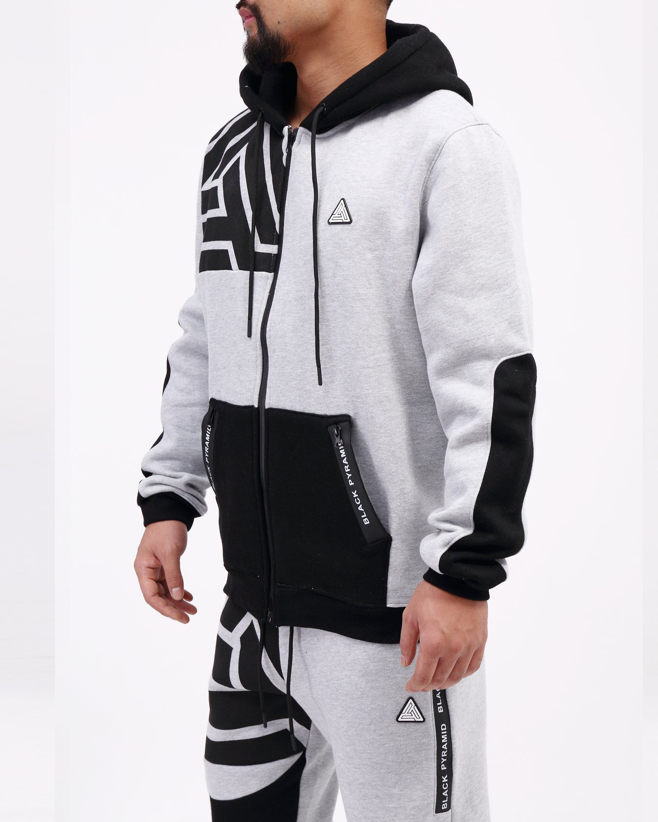BP Zipper Tech Hoody - Color: GRAY