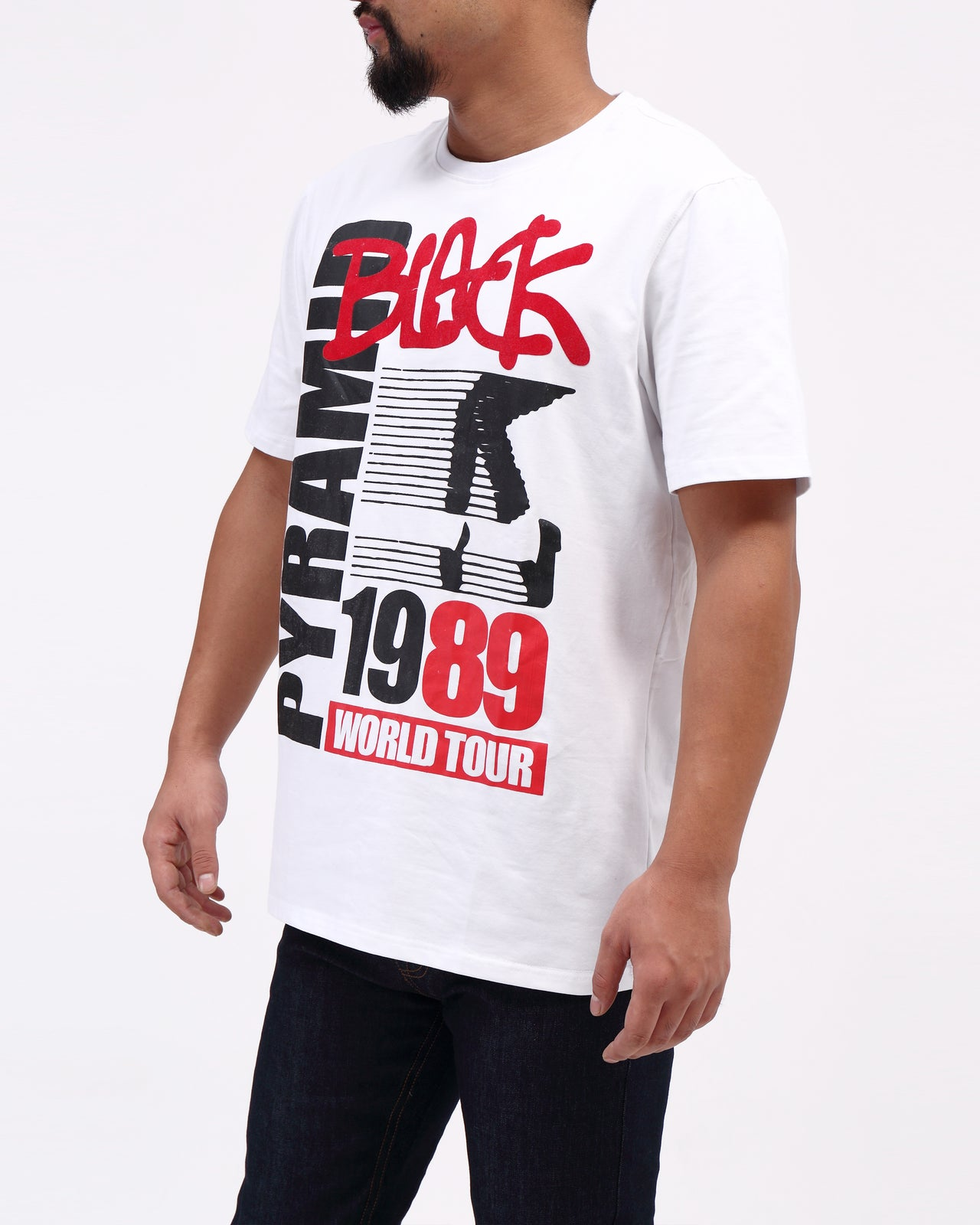 Mj Black Tee - Color: White