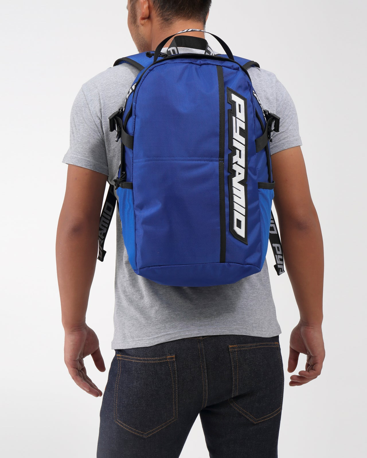 PYRAMID BACKPACK - Color: Blue