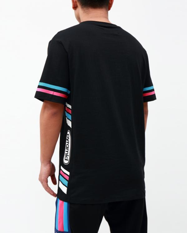 TEAM OHB STRIPE SHIRT-COLOR: BLACK