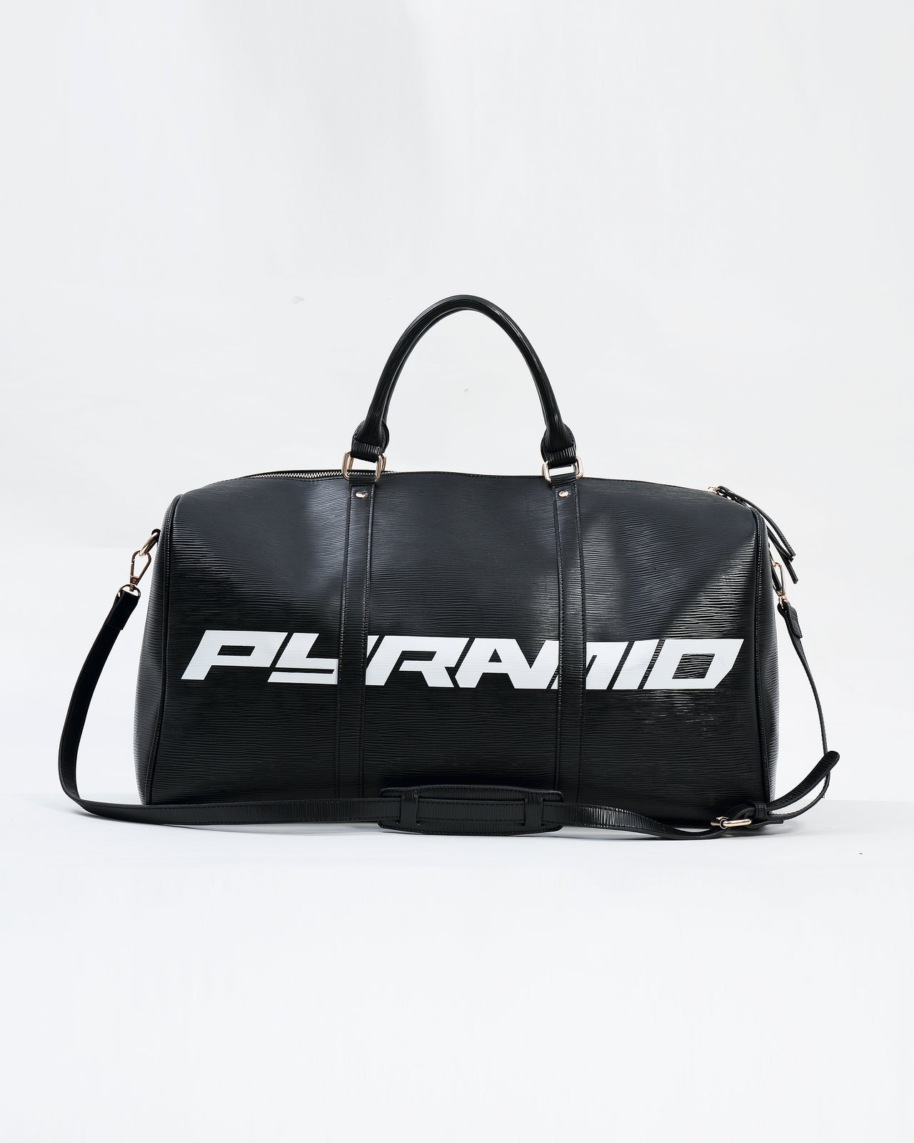 Lux Pyramid weekend Duffle Bag - Color: Black