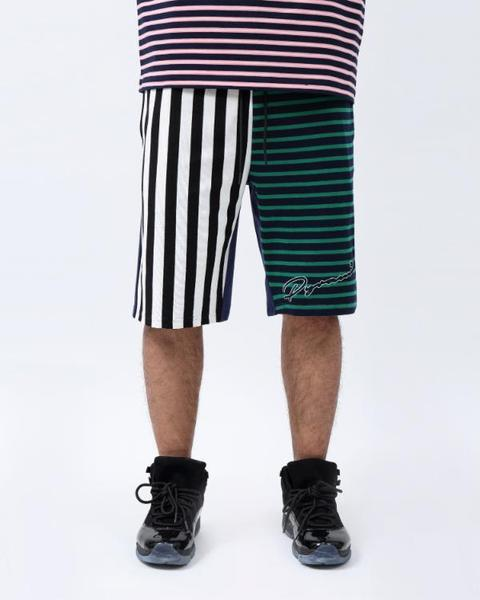 BIG AND TALL SCRIPT STRIPES SHORT