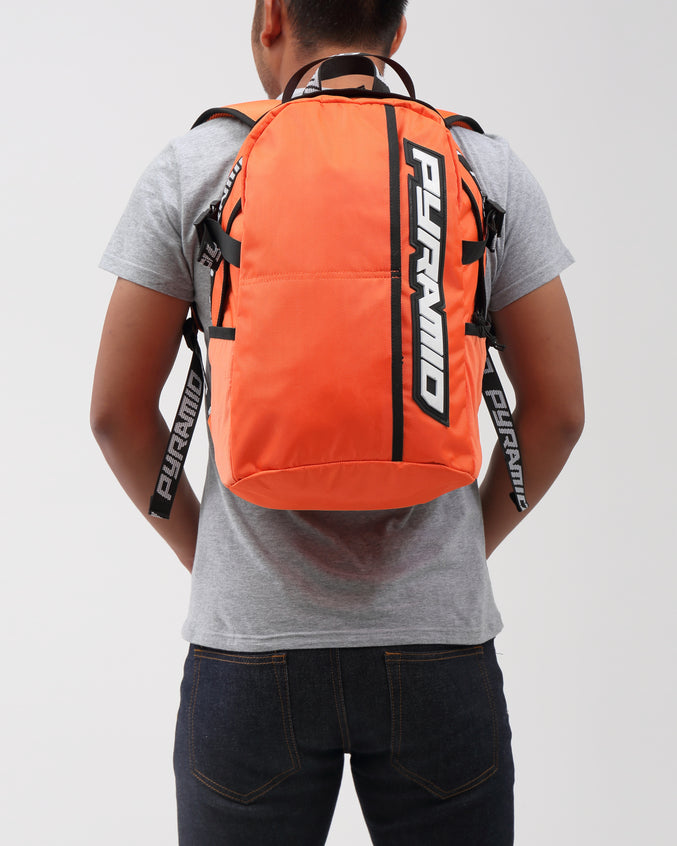 PYRAMID BACKPACK - Color: Orange