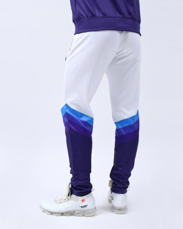 GRADIENT STRIPE JOGGER-COLOR: NAVY