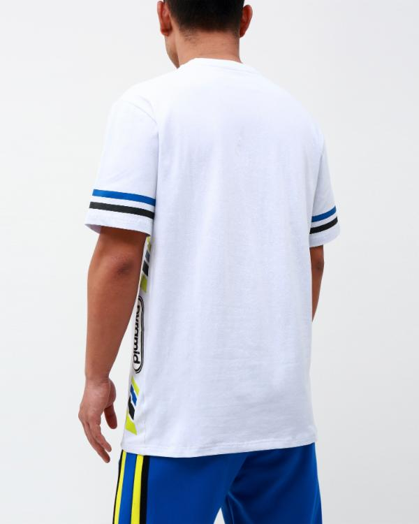 TEAM OHB STRIPE SHIRT-COLOR: ROYAL BLUE