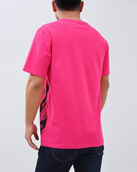 BIG AND TALL ROAR SHIRT-COLOR: PINK