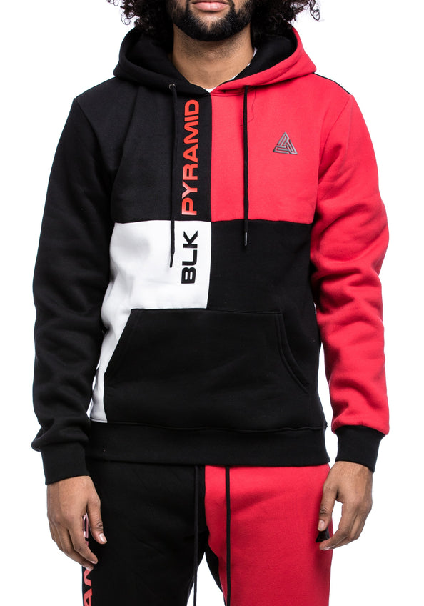 BP Block Hoody - Color: RED