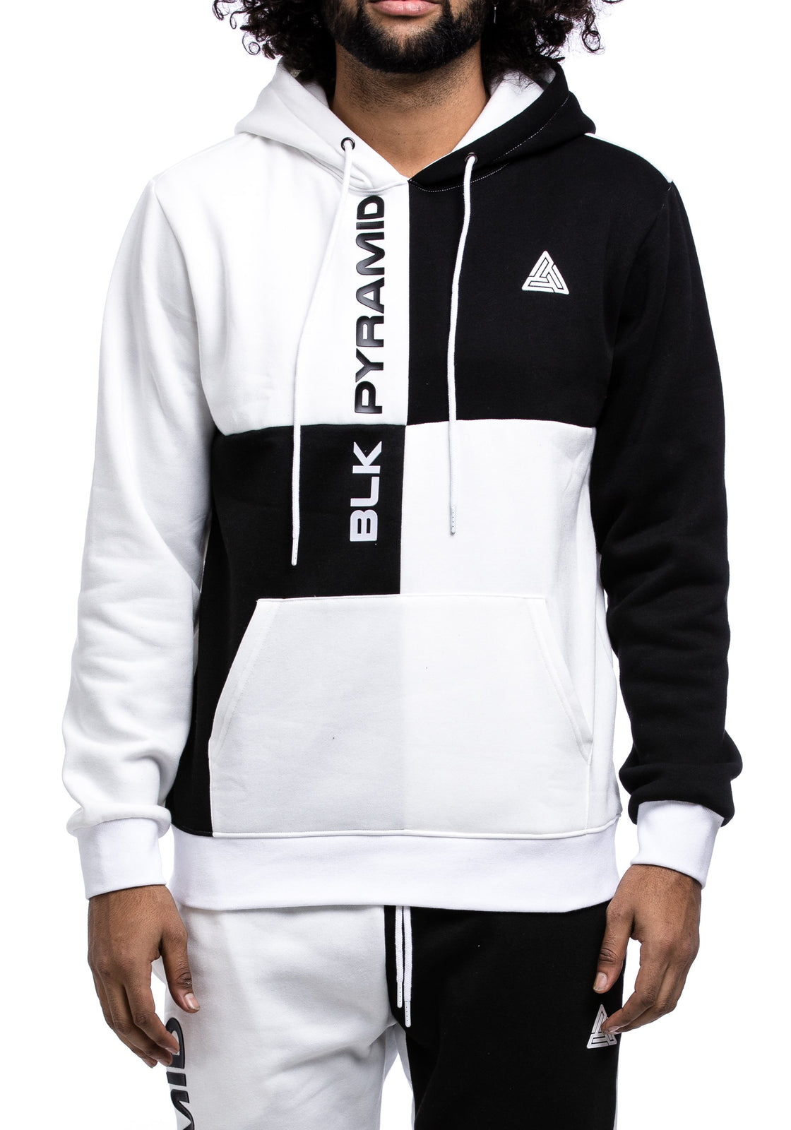 BP Block Hoody - Color: White