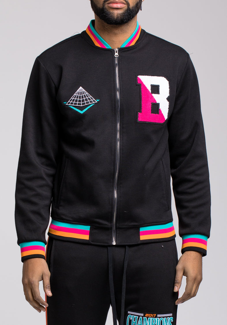 BP Champion Multi Color Track Jacket