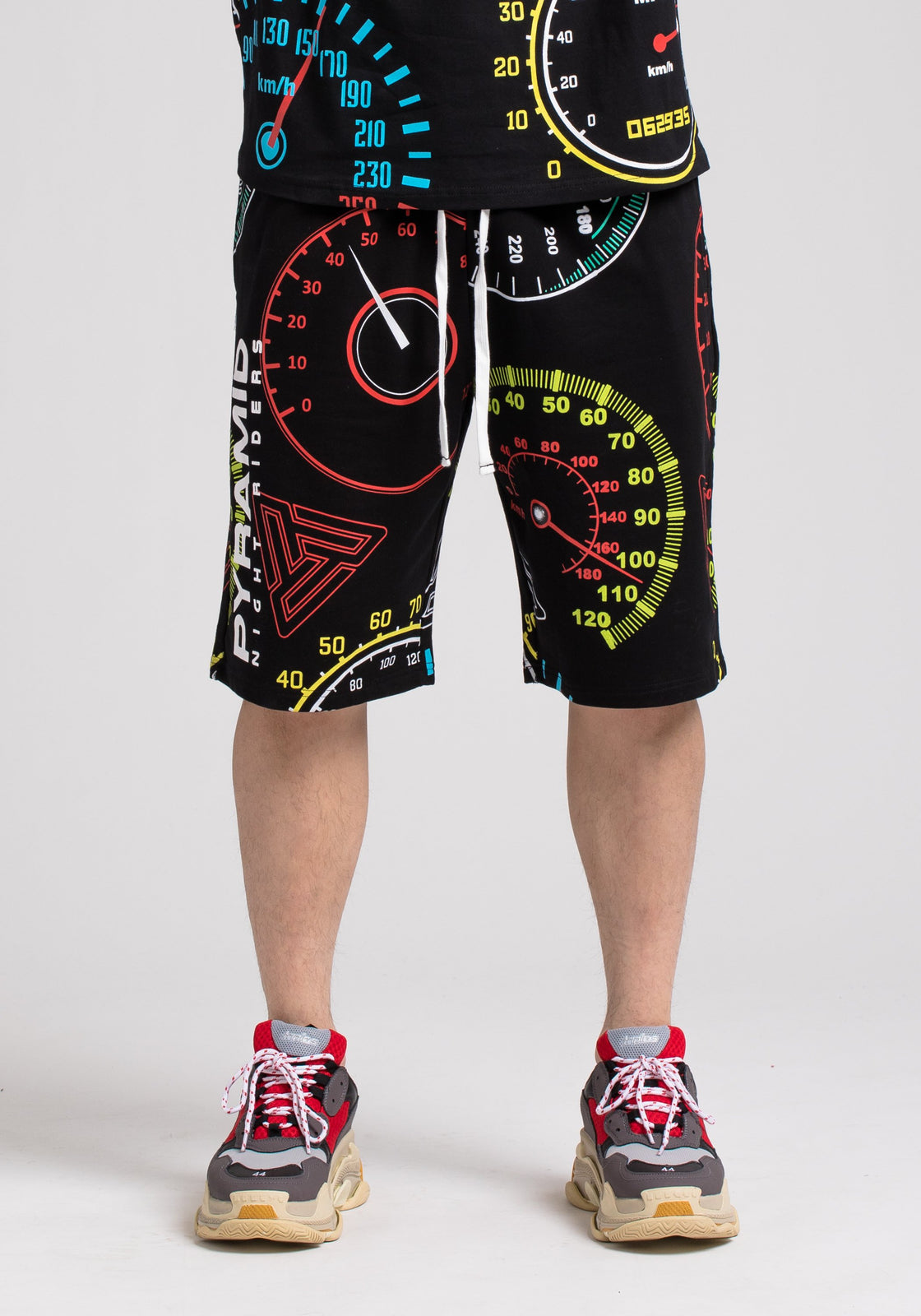 NIGHT RIDERS SHORTS - Color: Black