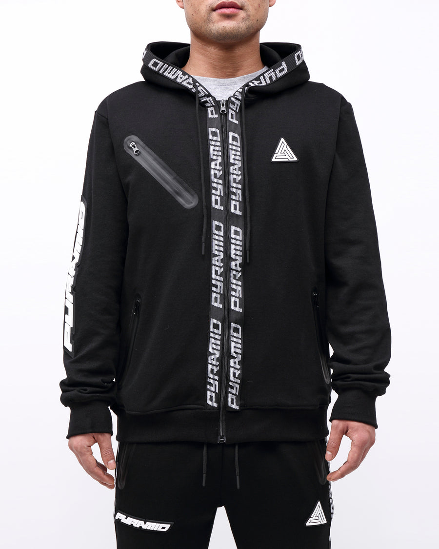 PYRAMID TECH ZIP UP HOODY