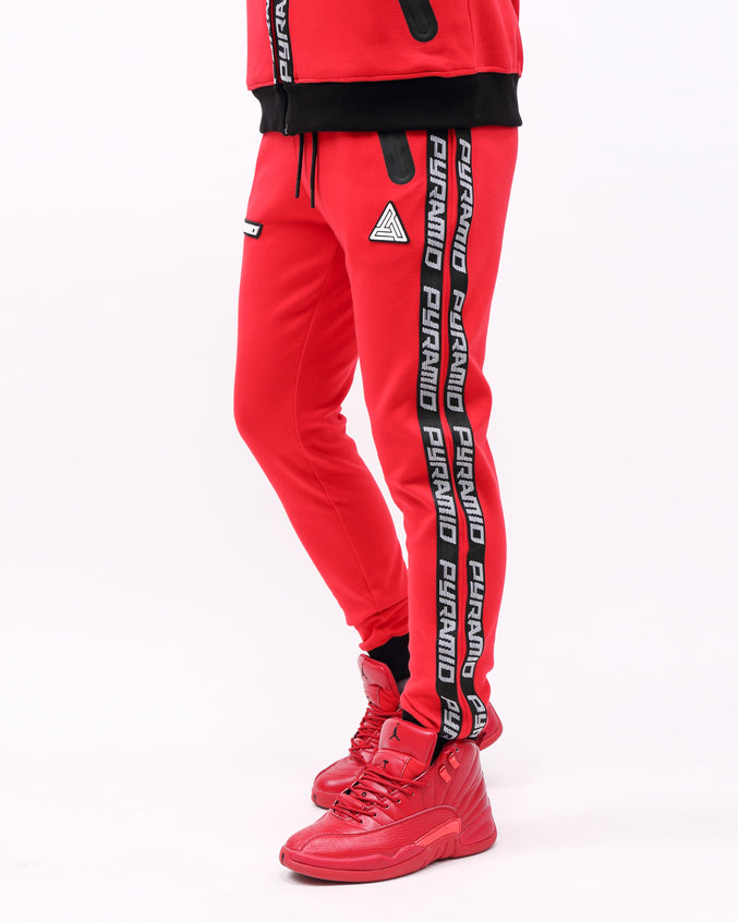 PYRAMID TECH PANT - Color: RED