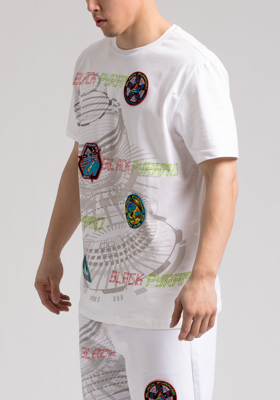 SPACE TEE - Color: White