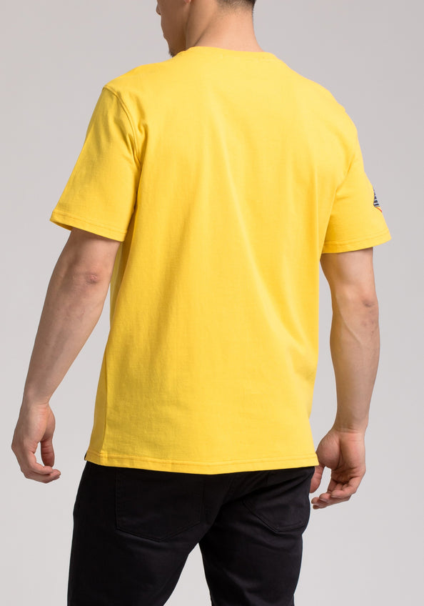BP POWER SS SHIRT - Color: YELLOW