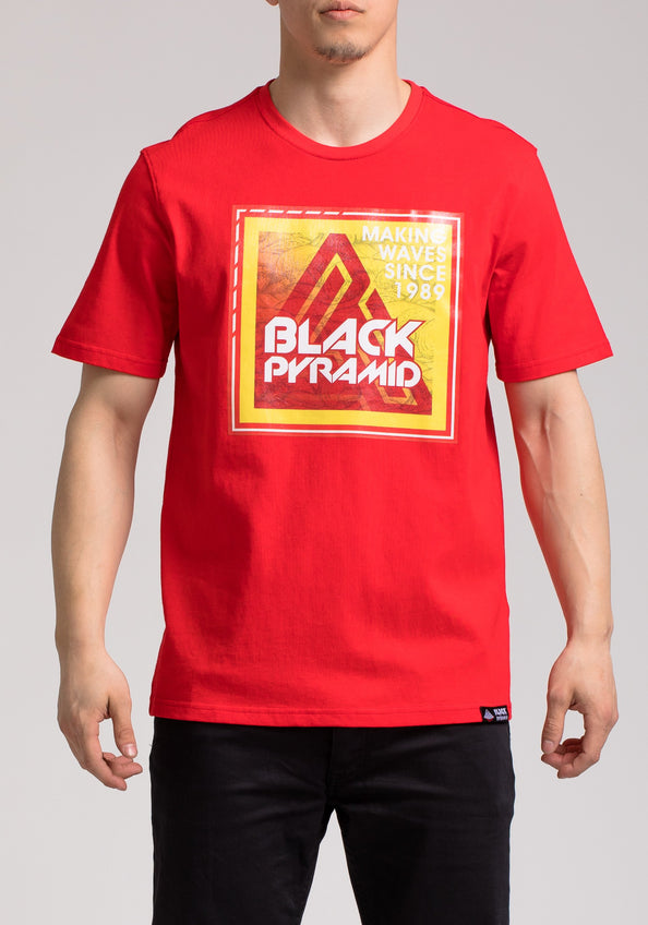 BP STAMP SS SHIRT - Color: RED